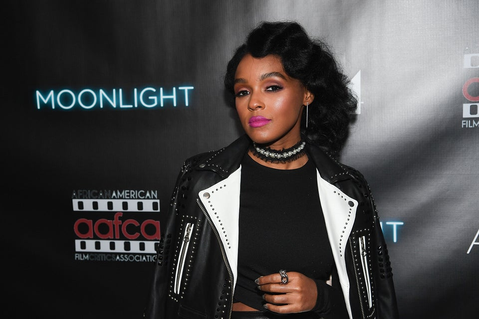 Janelle Monae's Black and White Leather Look Will Give You So Much Life