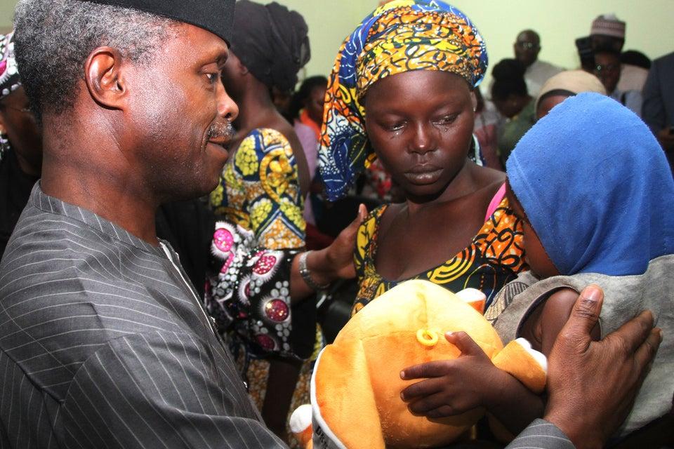 Many Captive Girls Are 'Unwilling to Leave Boko Haram,' Chibok Leader Says