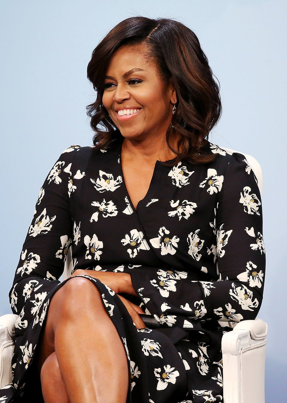 Civilian Life! Michelle Obama Spotted At A SoulCycle Class