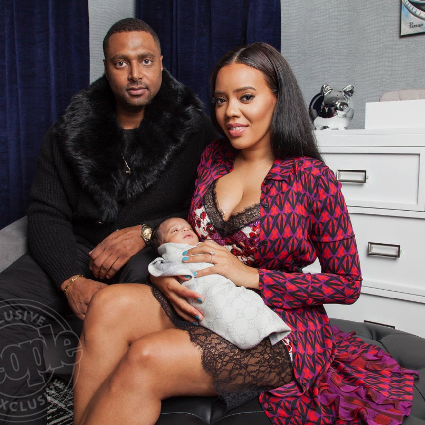 The First Official Photo of Angela Simmons' Son Is Here!