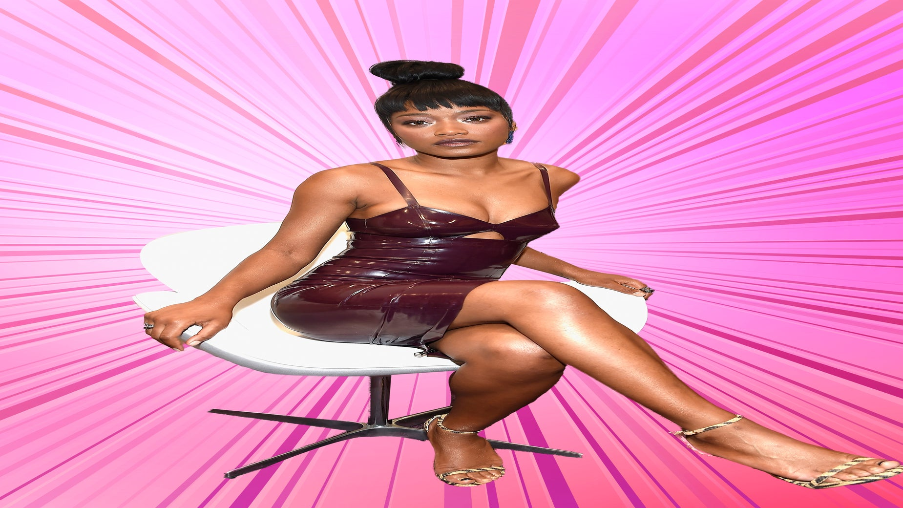 You've got to try Keke Palmer's Two-Tone Pedicure