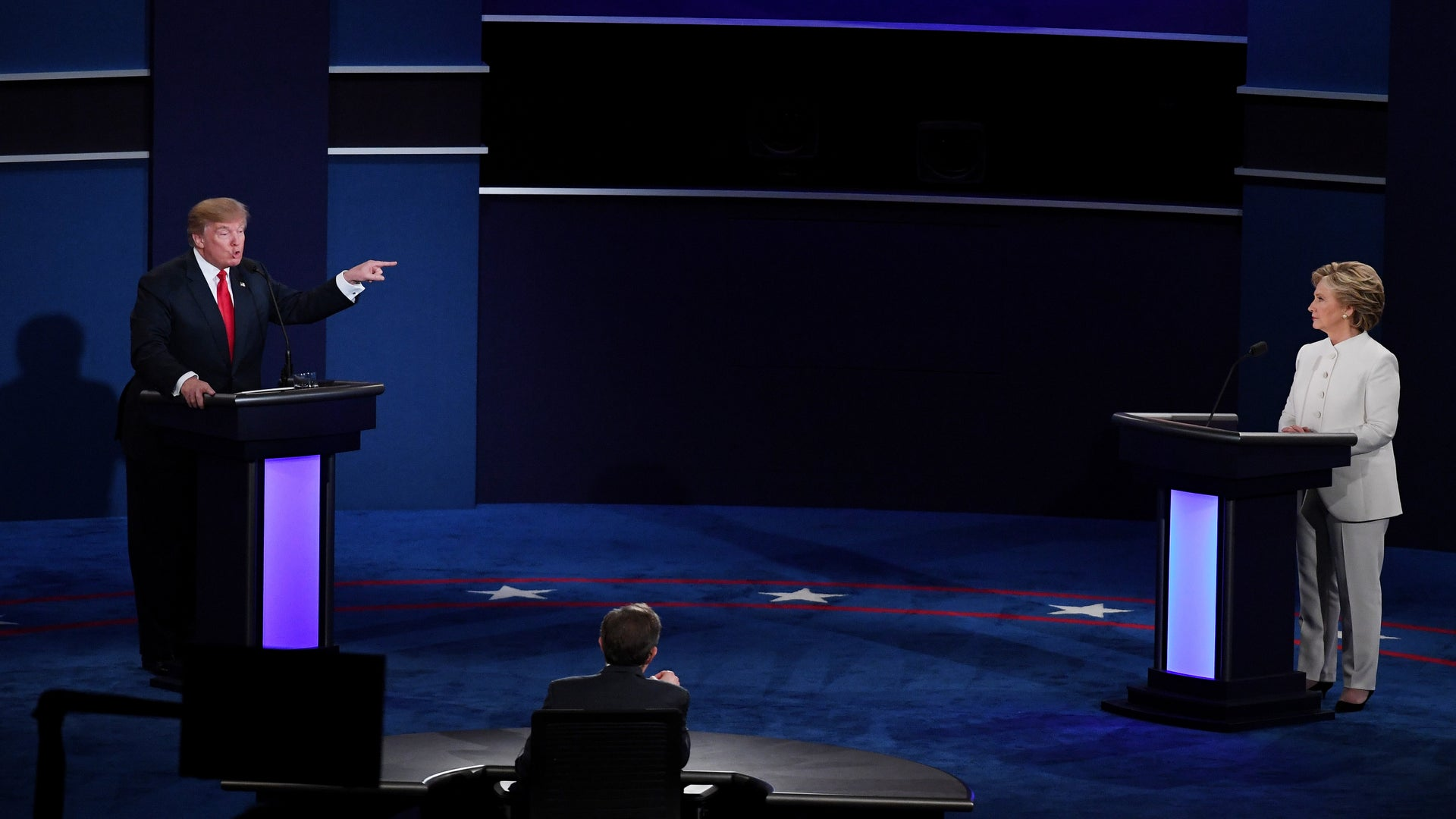 Donald Trump Claims Clinton Is Responsible for Allegations He Attacked Women