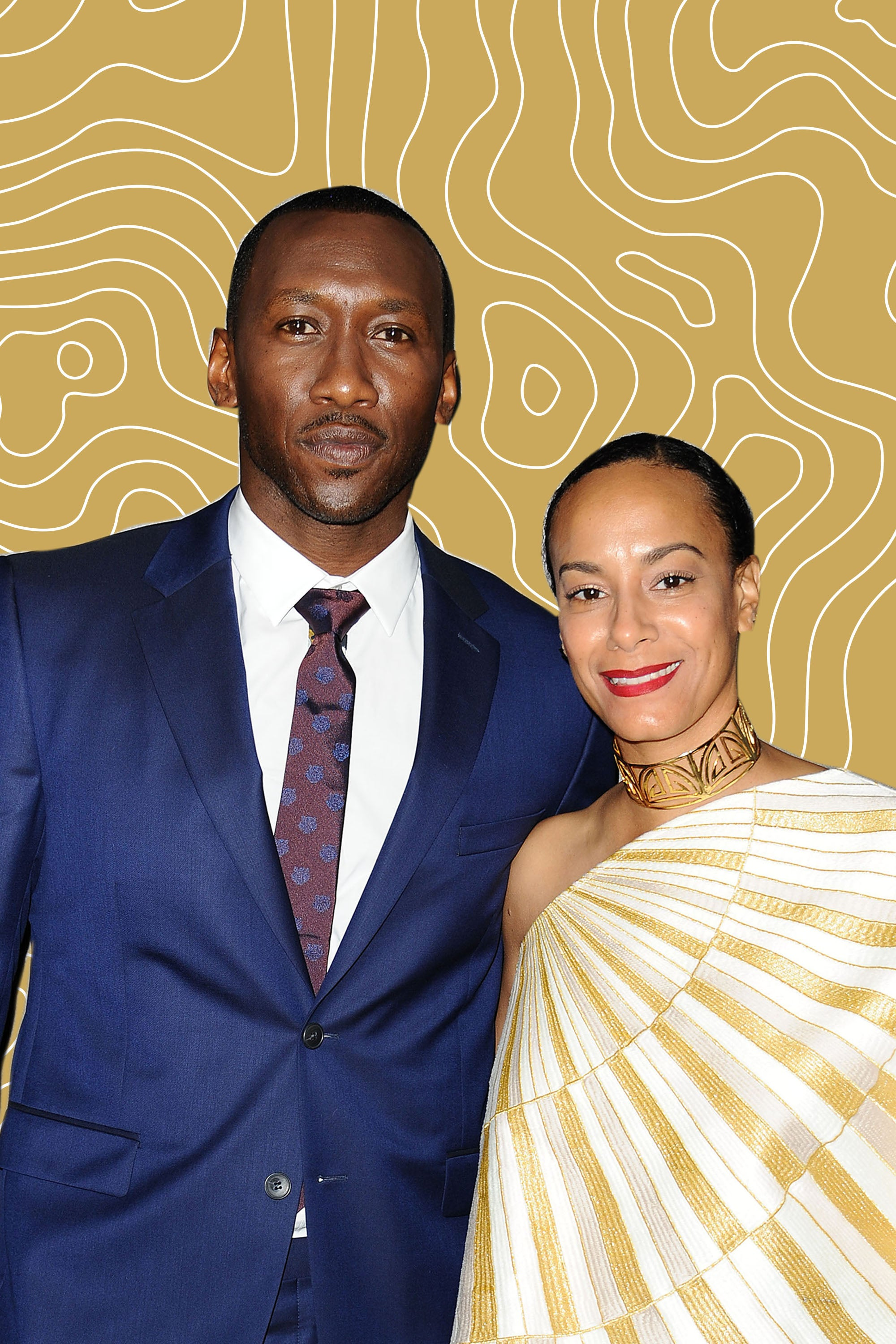 Mahershala Ali Beautifully Thanked His Wife During His Oscars Acceptance Speech