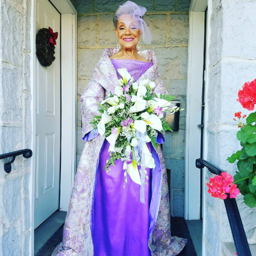 Black Wedding Moment Of The Day: This Stylish 86-Year-Old Grandma ...