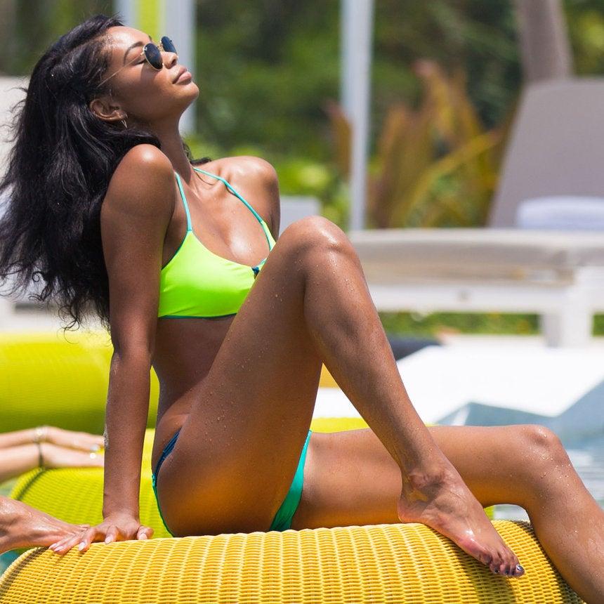 Chanel Iman's Fabulous Mexican Getaway
