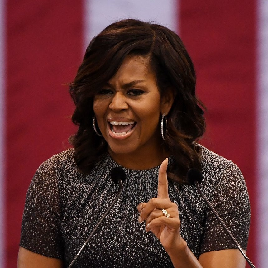 Michelle Obama Campaigns for Clinton in Arizona, Blasts Trump's Vision of 'Hopelessness and Despair'