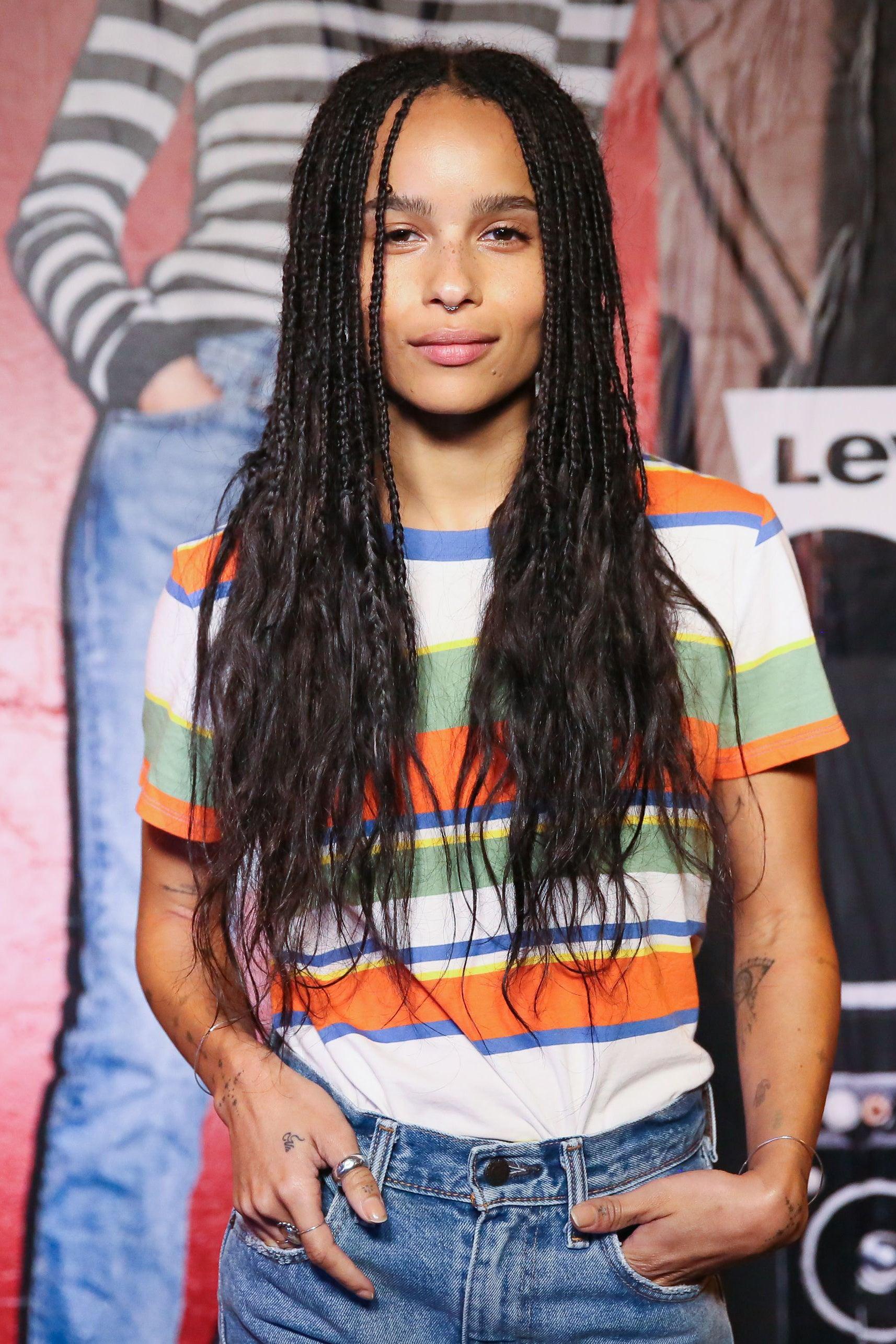 Zoe Kravitz Hairstyles Essence