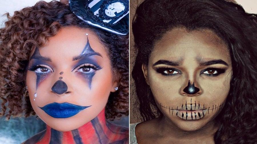 5 Crazy Cool Halloween Makeup Transformations You Can Actually Recreate