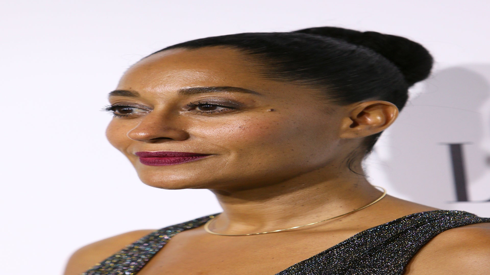 Look of the Day: Tracee Ellis Ross Shines Bright in Gorgeous Shimmering Dress