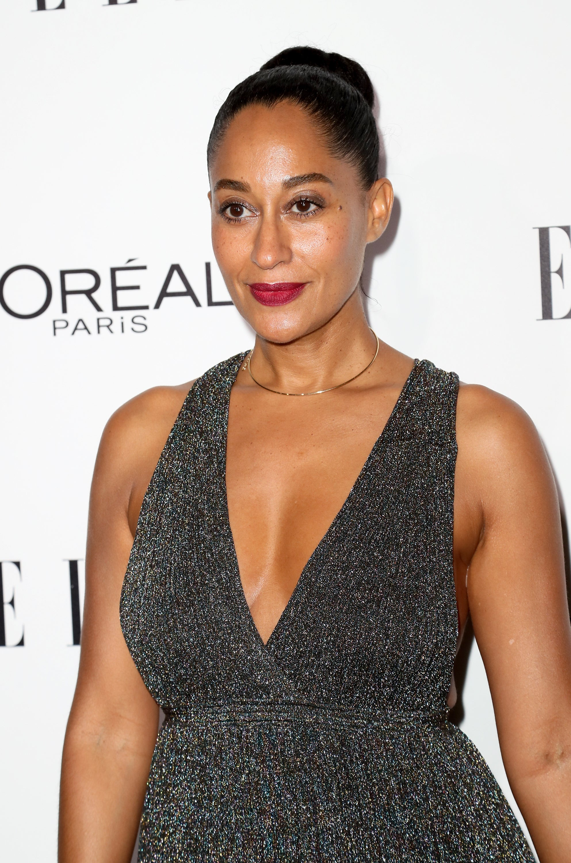 Tracee Ellis Ross Shines Bright in a Gorgeous Shimmering Dress - Essence