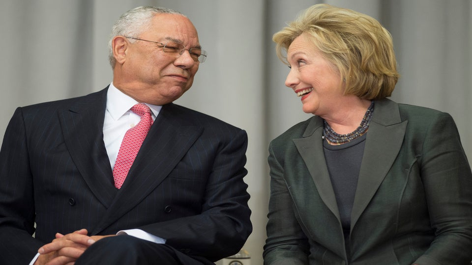 """Colin Powell: """"I Am Voting For Hillary Clinton"""""""