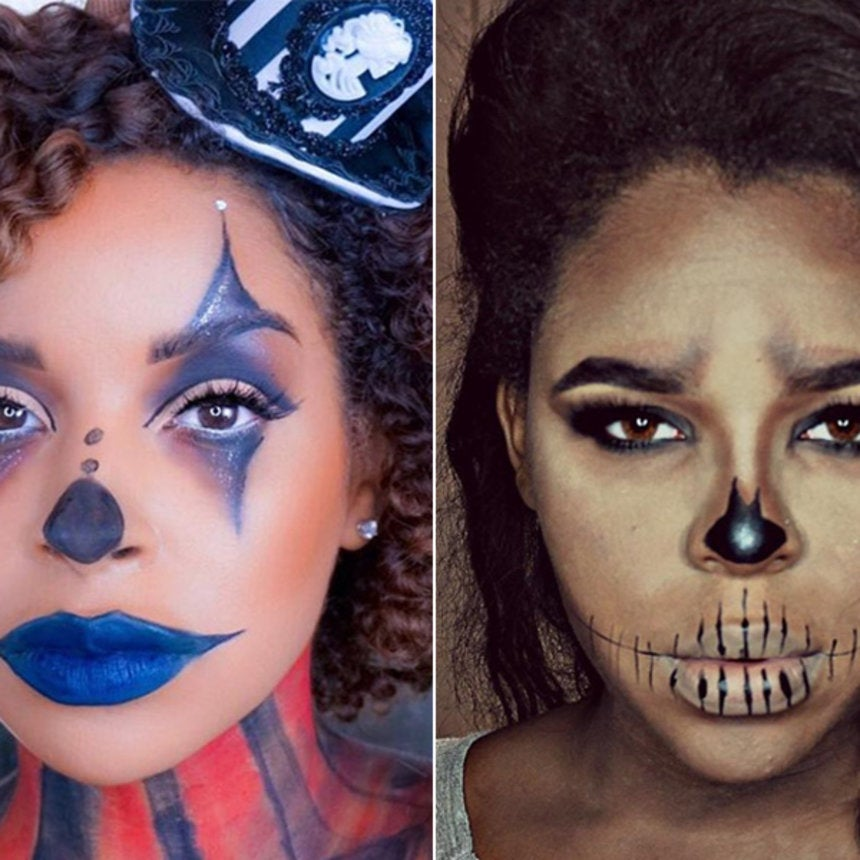 5 Crazy Cool Halloween Makeup Transformations You Can Actually Recreate