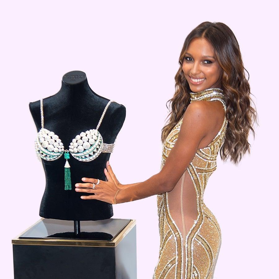 Jasmine Tookes Tapped To Wear The $3 Million Victoria's Secret Fantasy Bra