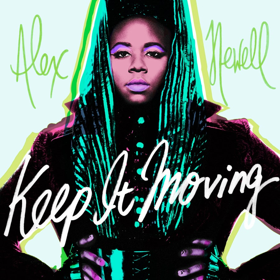 """Listen To Alex Newell's Vibrant New Song """"Keep It Moving"""""""