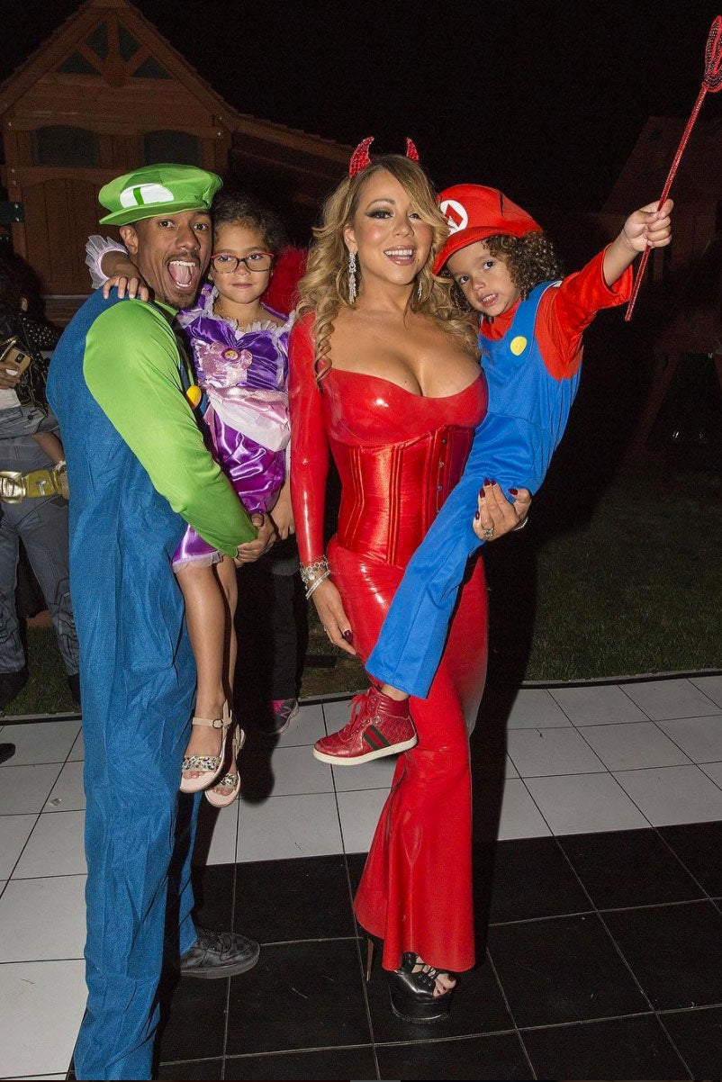 the best celebrity halloween costumes of all time - essence