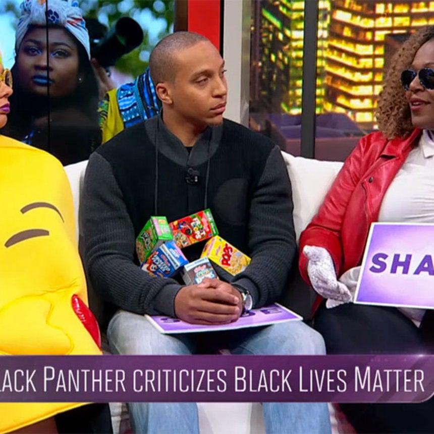 Black Panther Says Black Lives Matter Has 'Plantation Mentality'