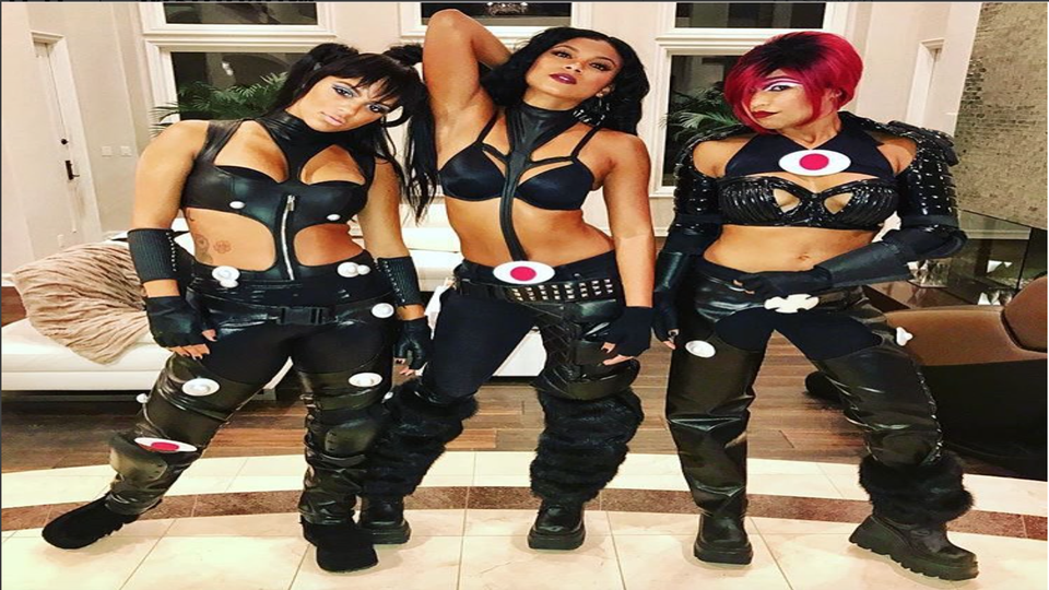Cancel Halloween – Eniko Hart's Squad Just Killed It As TLC
