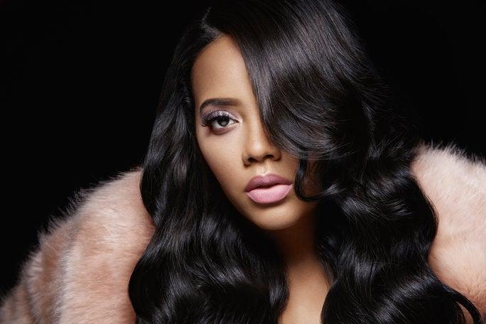 Angela Simmons Unveils Lip Art Essence