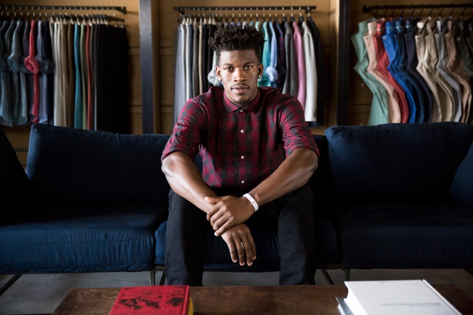 NBA Star Jimmy Butler Dishes on Starring in Bonobos' First-Ever Fashion Campaign