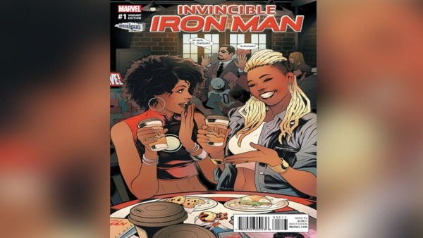 #BlackGirlMagic: Comic Book Store Owner Ariell Johnson Will Appear On 'Iron Man' Cover