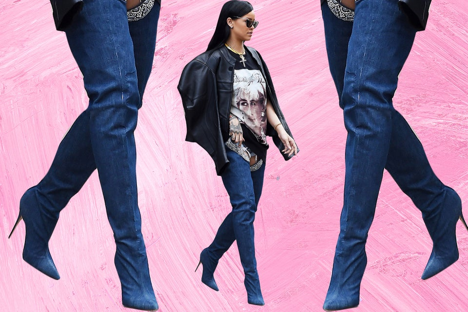 DIY Jean Boots Are Officially a Thing, Here's How to Make Your Own