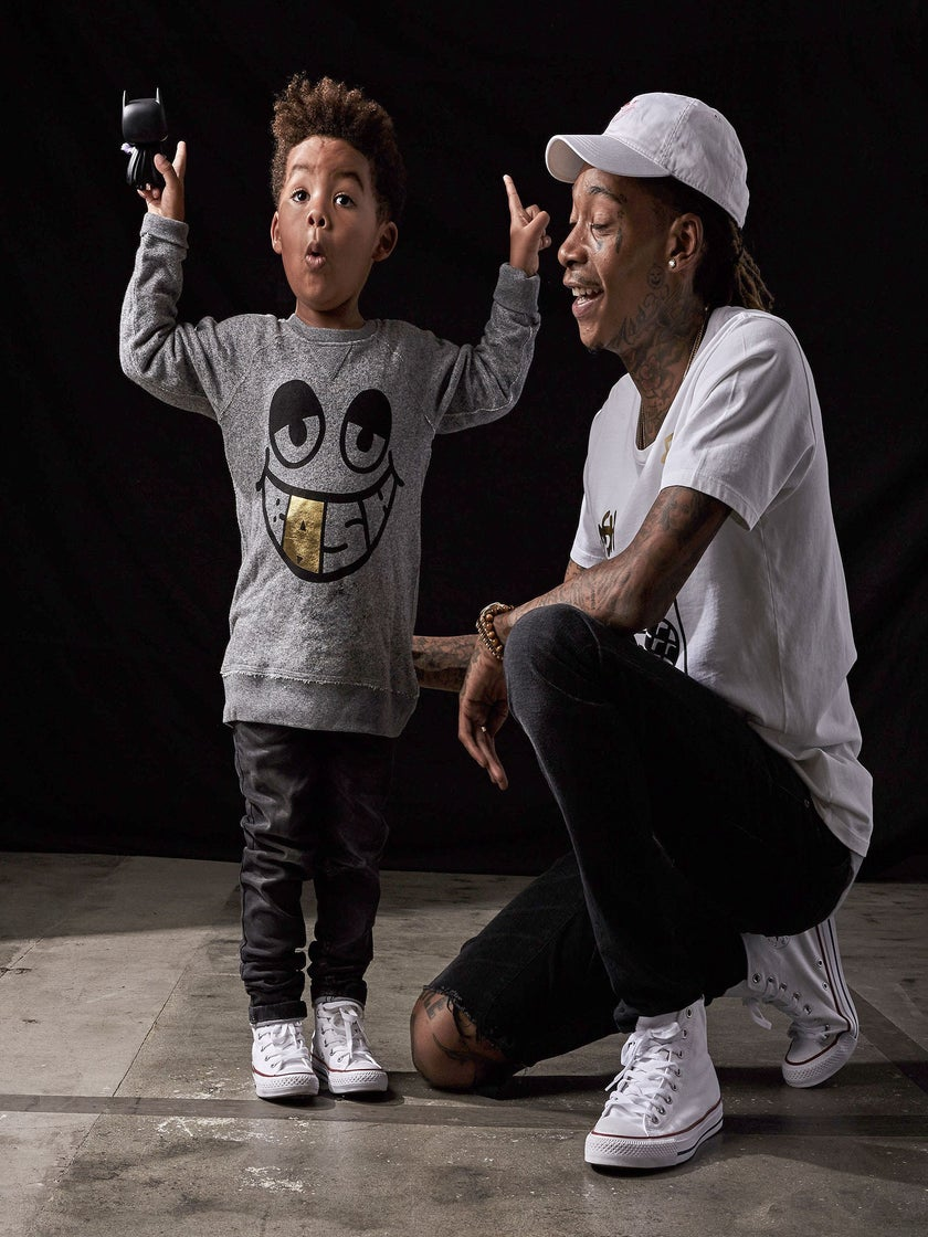 Wiz Khalifa Set To Launch New Clothing Line Inspired by his Adorable Son Sebastian