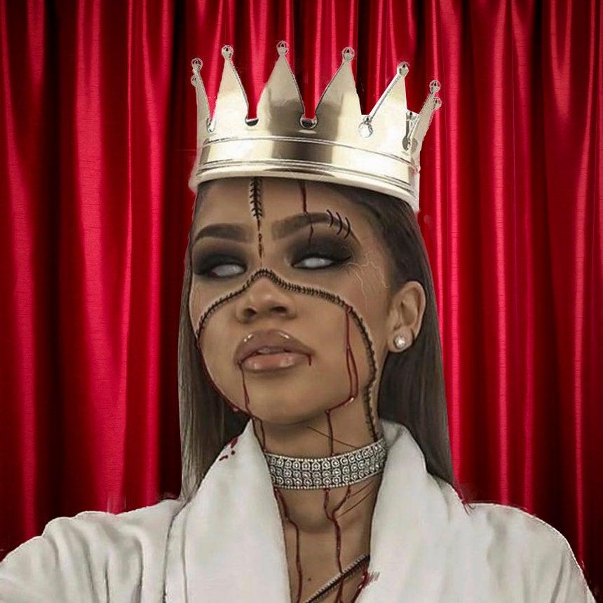 Zendaya Has A Brilliant Halloween Makeup Hack For Procrastinators