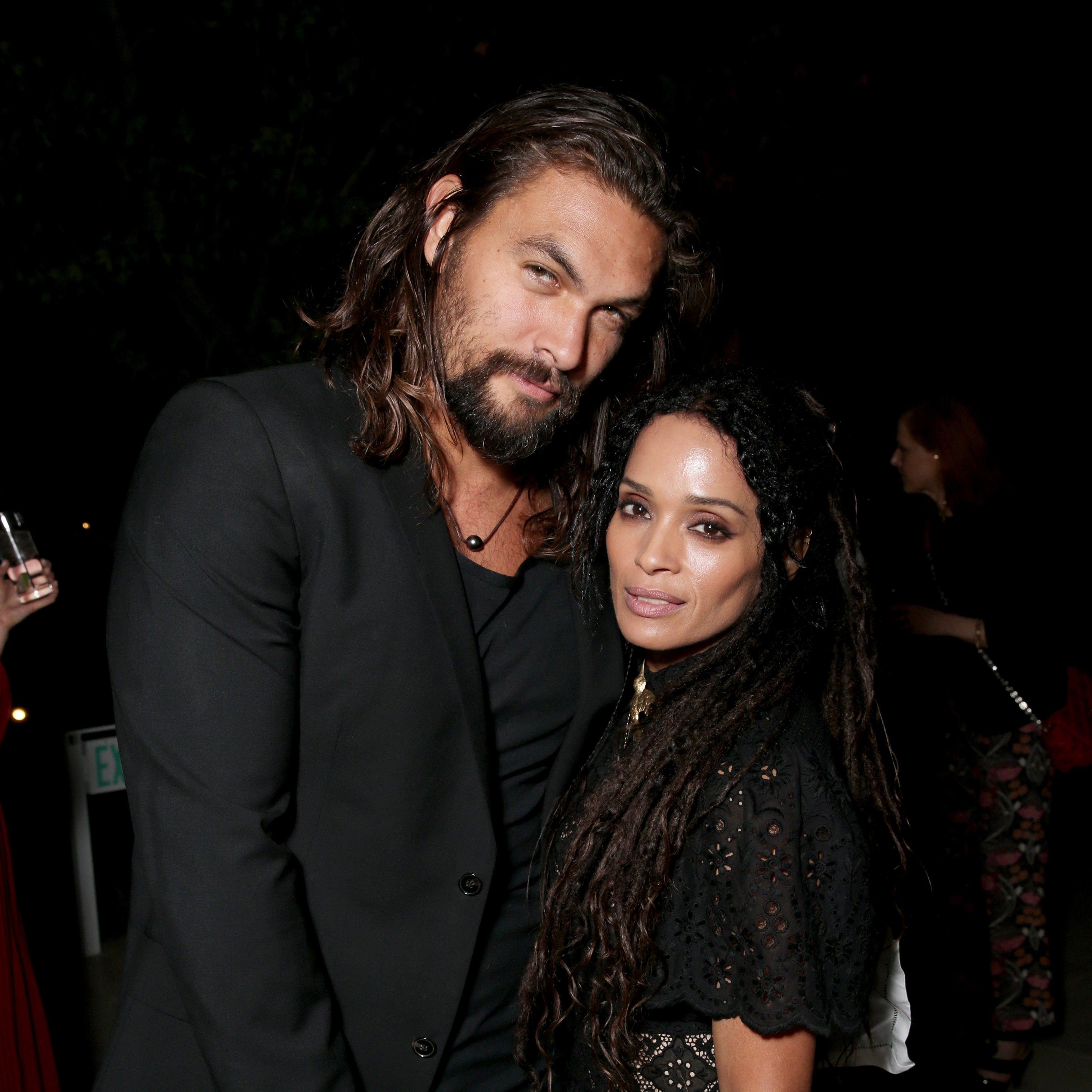 Jason Momoa Gave Aquaman Kiss For His Wife At The Movie: Lisa Bonet Surprises Husband Jason Momoa On Set For His