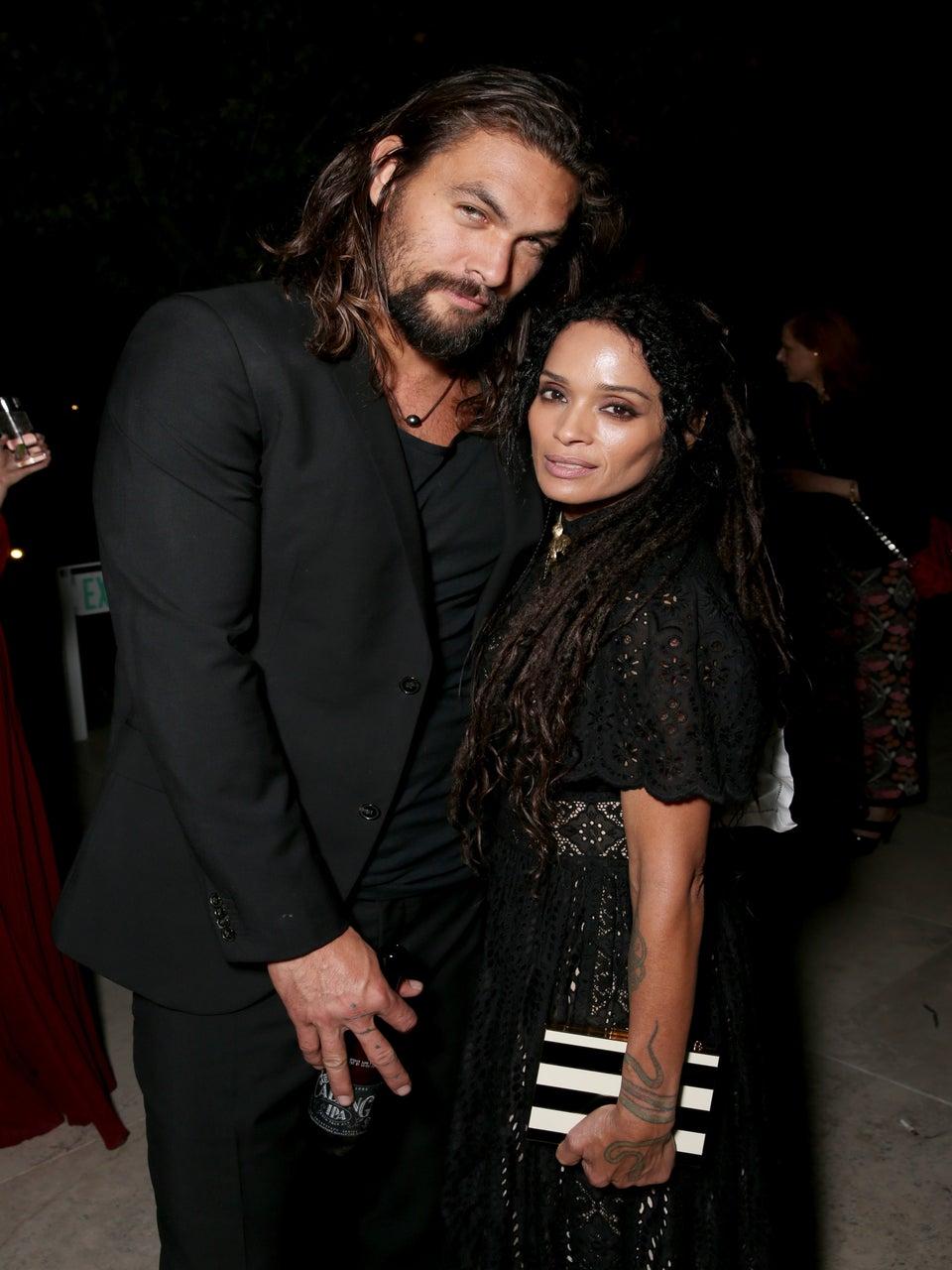 Lisa Bonet Surprises Husband Jason Momoa On Set For His Birthday