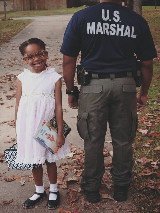 This Little Girl Dressed Up As Civil Rights Heroine Ruby Bridges And We Can't Take It