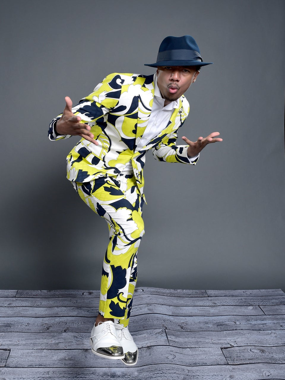 Nick Cannon Took A Break From Class To Help Teach Guys How To Dress