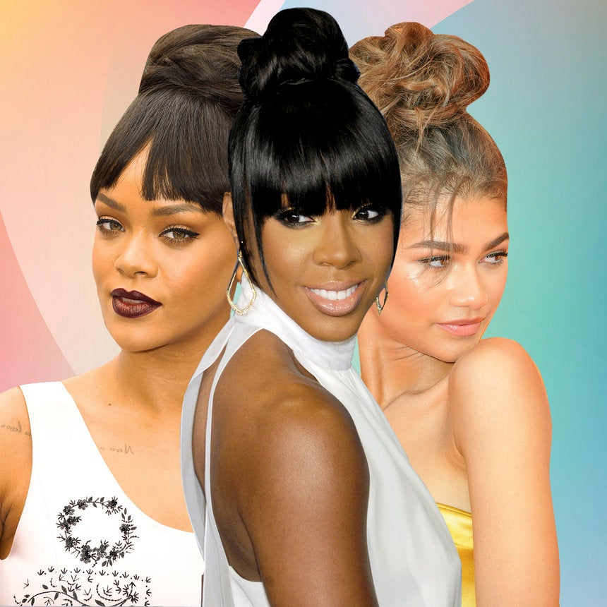 15 Celebrity Messy Buns That Are Actually Perfect