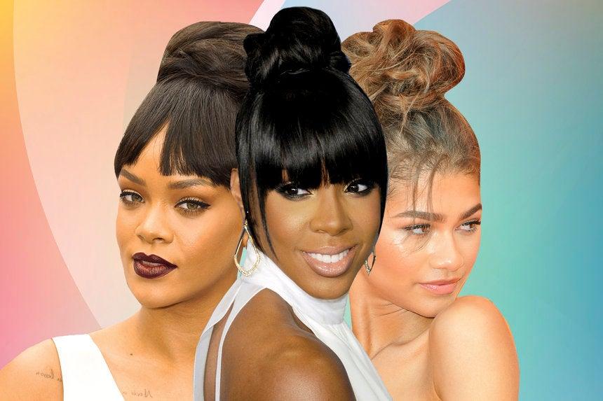 Best Celebrity Messy Bun Hairstyles