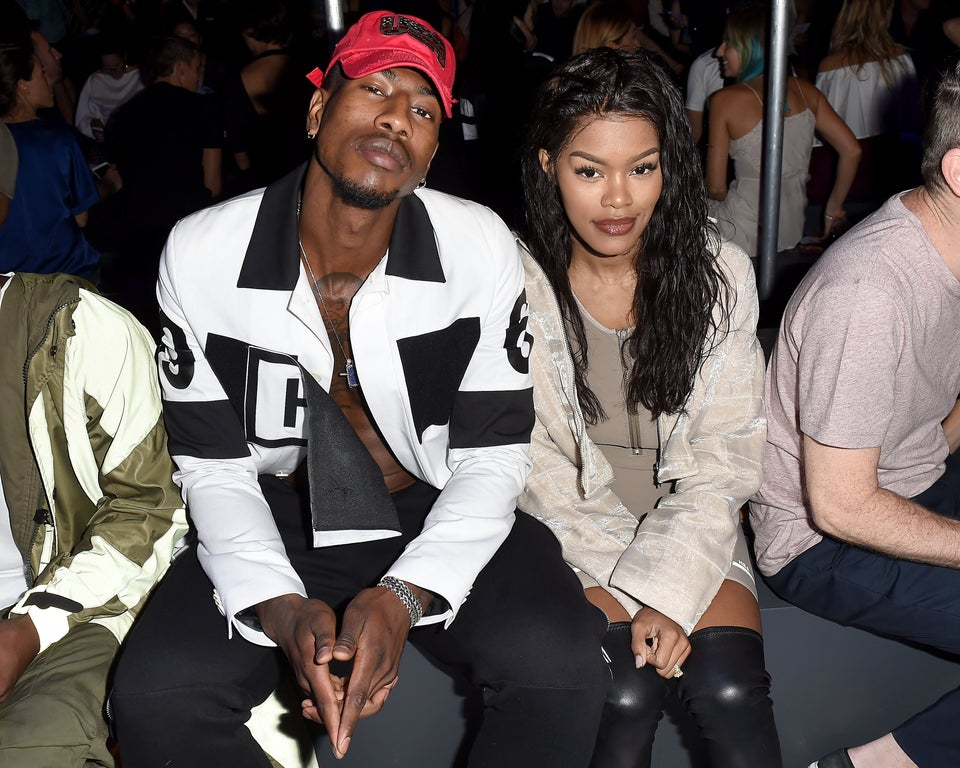 Teyana Taylor's Wedding Day Pic Has Us Wanting To Get Married In Red Leather Jackets
