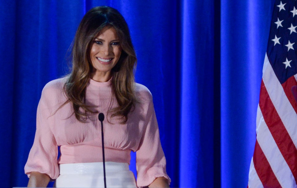 Melania Trump, The Woman Married To Donald Trump, Thinks American Culture Is Too Mean