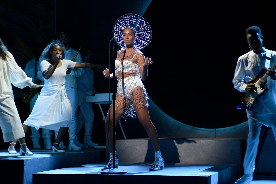 Solange is a Sparkling Goddess During her Saturday Night Live Performance