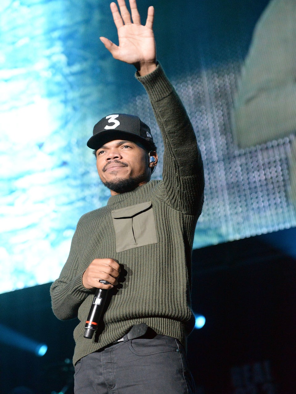 Chance The Rapper Leads Chicago Fans To The Polls