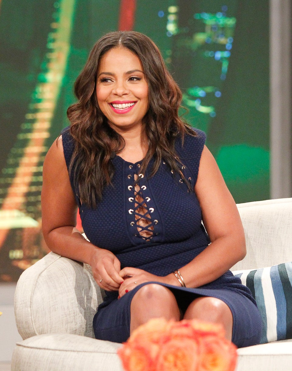 Sanaa Lathan Slayed in This $70 Zara Sweater and We're Buying One Too