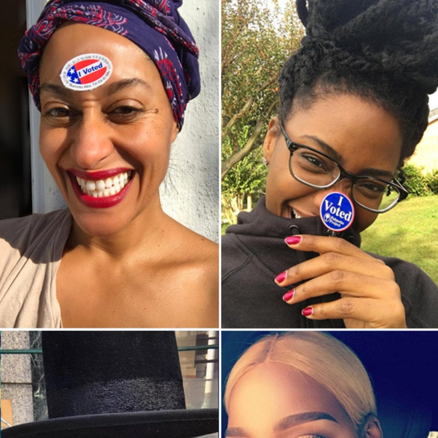Celebs Who Are Making Their Votes Count
