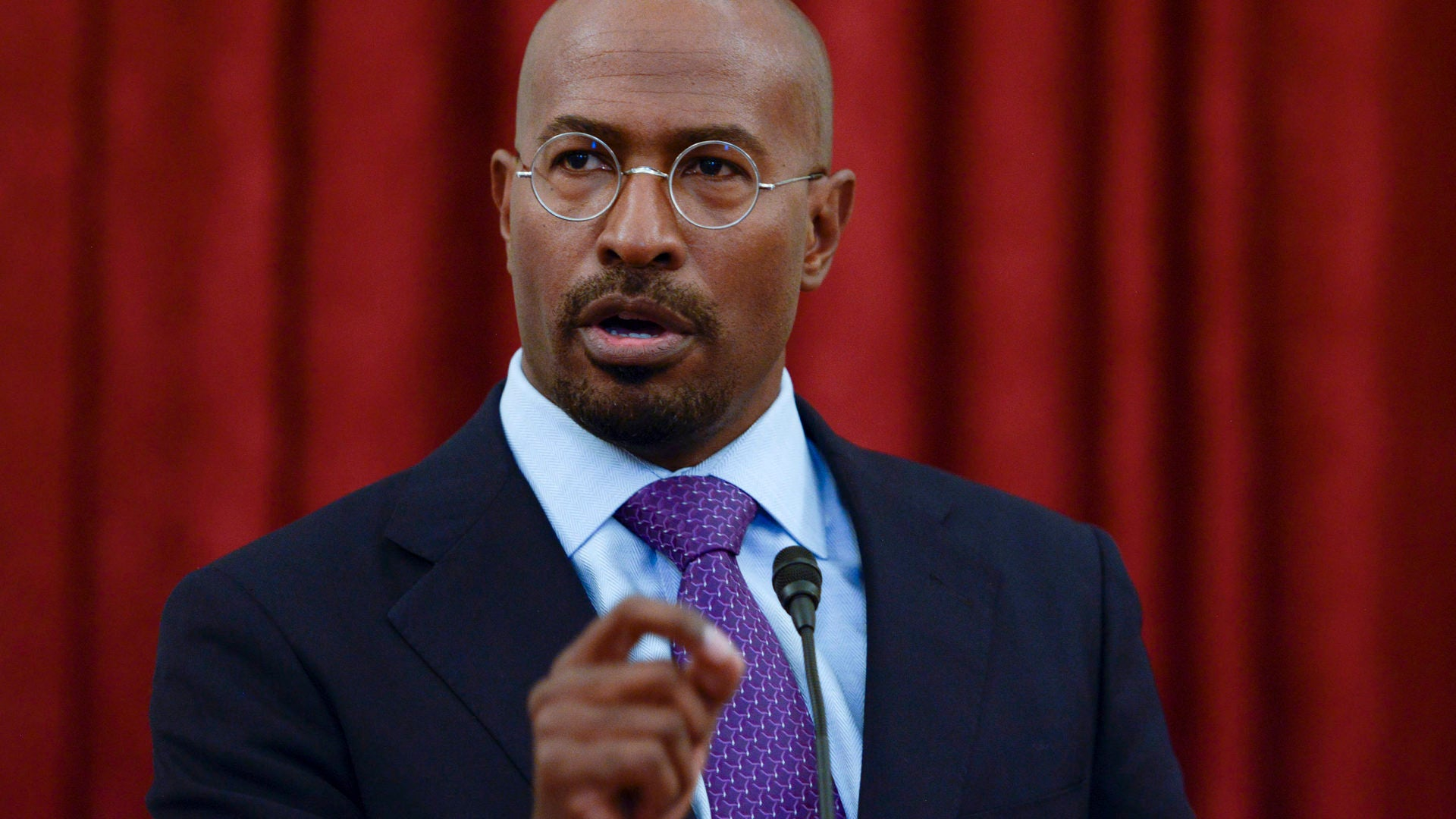 Van Jones Says Donald Trump Is On His Way To Being The 'Uniter-in-Chief'