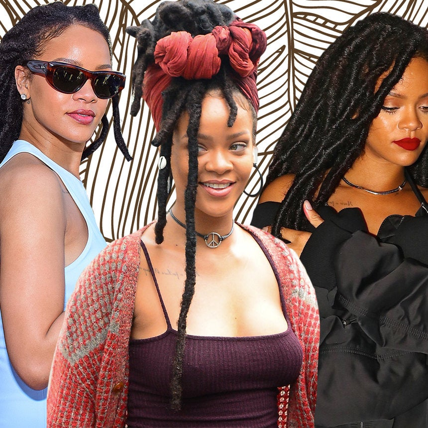 You'll Want Faux Locs After Seeing These Pictures of Rihanna