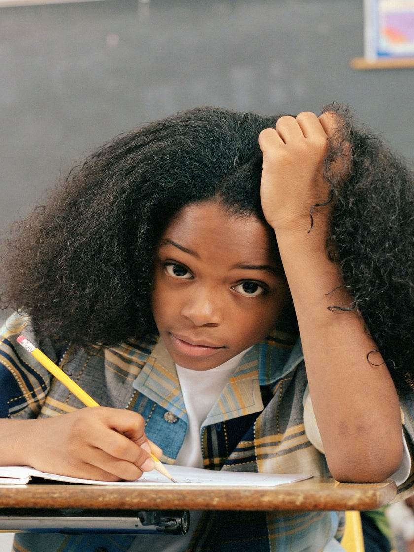How A Brave 10 Year Old Overcame Her Obsession With Straight Hair