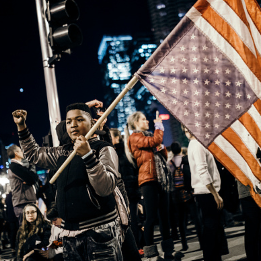 32 Inspiring Photos Of Americans Protesting A Donald Trump Presidency