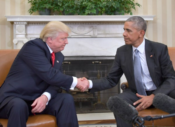 Donald Trump Blocks Press Access For First Meeting With President Obama