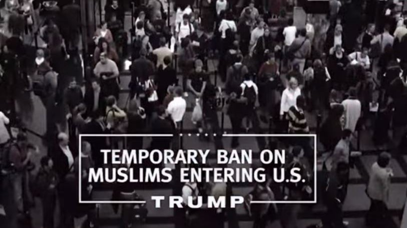 Trump Takes Down Muslim Ban Message From Site…Then Puts It Back Up