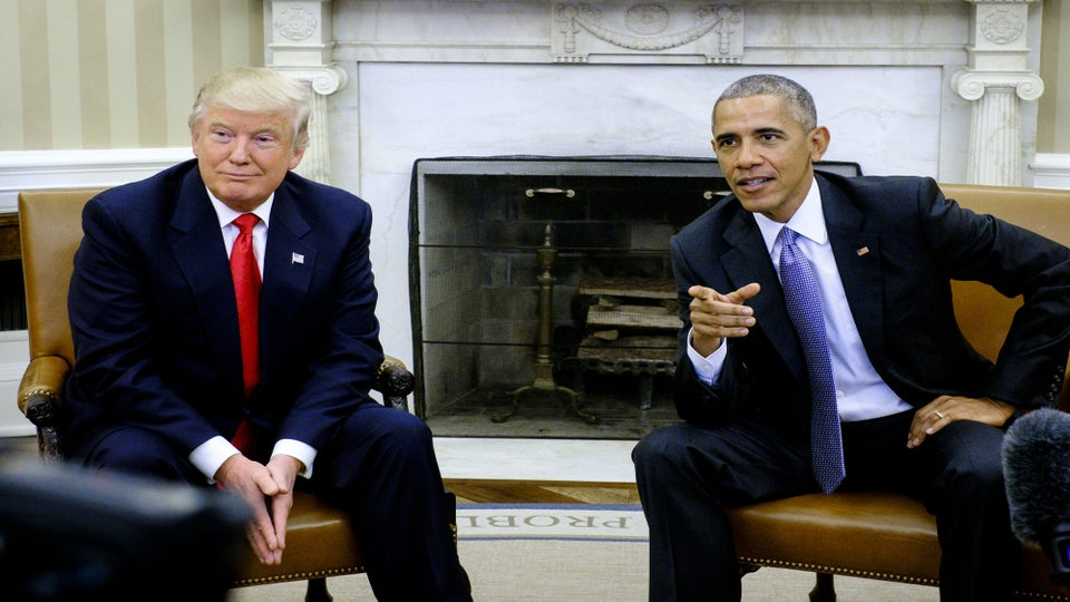 President Trump Thinks Obama 'Likes' Him