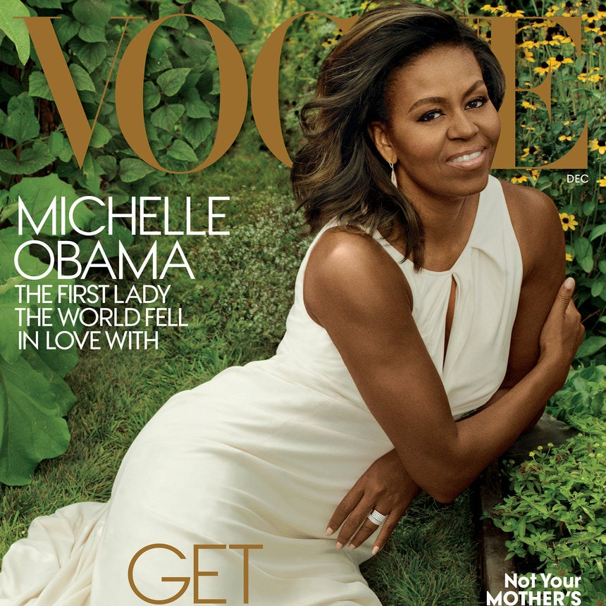 Get Into This:Michelle Obama Serves Up Her Last Vogue Slay As First Lady