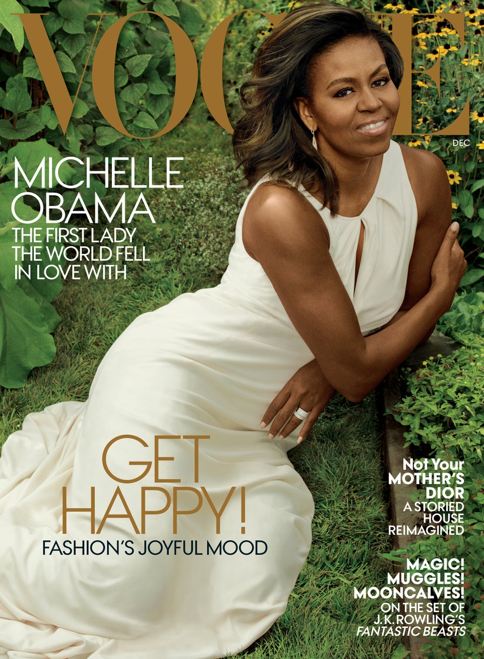 Michelle Obama cover December issue of Vogue Magazine