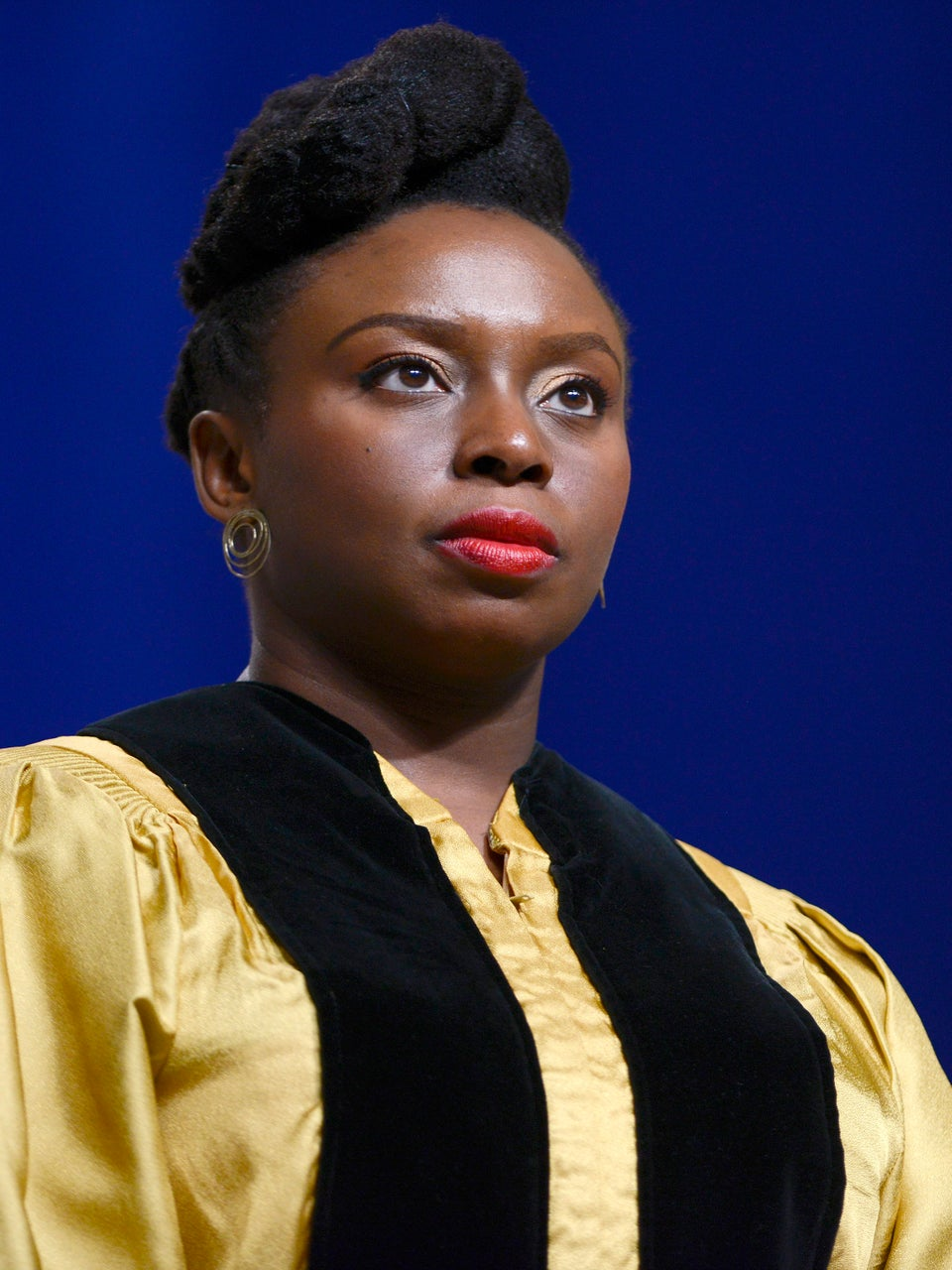 Chimamanda Adichie Shuts Down Trump Supporter Who Said The President Elect Is Not Racist
