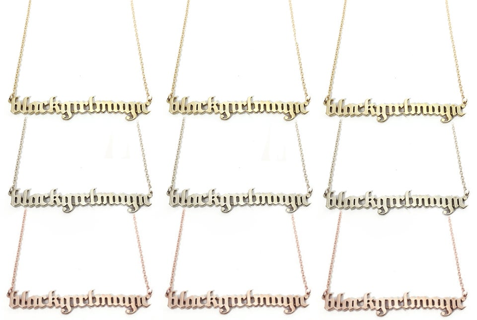 The One Necklace You Need to Celebrate Your #BlackGirlMagic